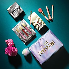 A selection of make-up gifts