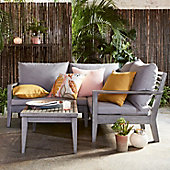 Melrose outdoor corner sofa with cushions