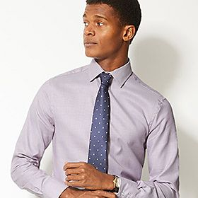 Man wearing pale grey formal shirt