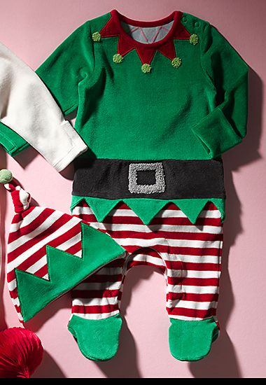 M&S Christmas elf outfit for baby girls and boys