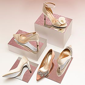 Selection of party shoes