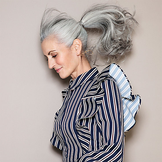 Get Luxe Looking Grey Hair Withjosh Wood S Hair Mask
