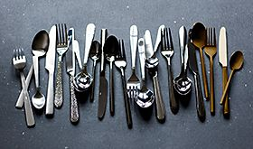 Selection of cutlery