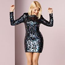 Holly Willoughby wears a sequin dress