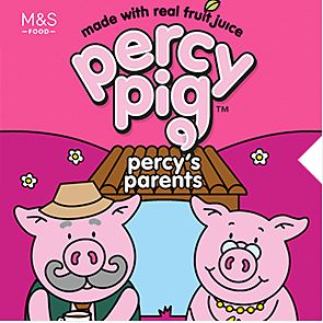 Percy Pig's parents sweet packet