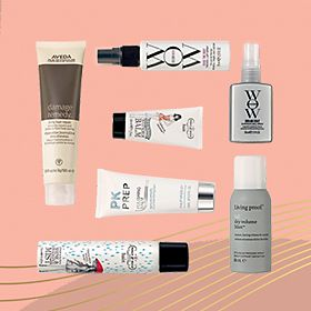 A selection of haircare free gifts
