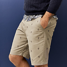Look sharp in shorts