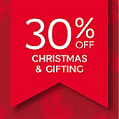Image graphic 30% off Christmas and gifting