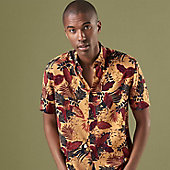 Man wearing printed shirt