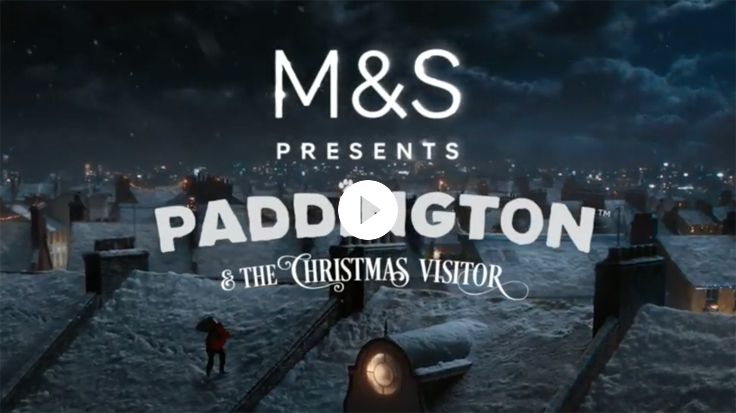 Say hello to Paddington in our Christmas TV ad