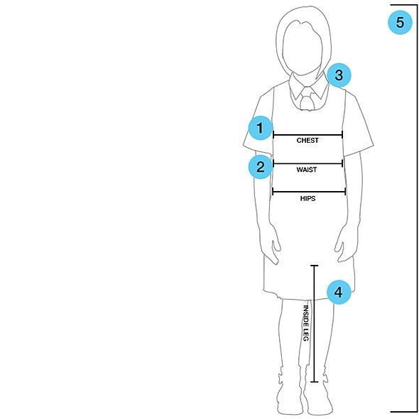 School Uniform Size Chart & Guide | M&S